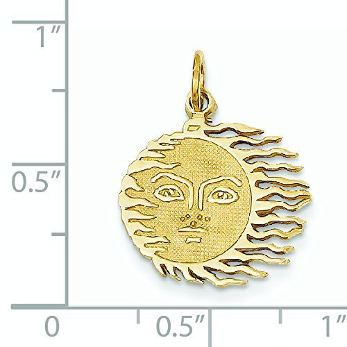 14 carats-JewelryWeb-en forme de soleil