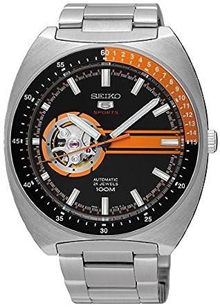Seiko Reloj Analógico Automático para Hombre con Correa de Acero Inoxidable - SSA331K1: Amazon.es: Relojes