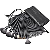 BeautyWill Professional Makeup Brush Set with Foundation Blush Bronzer Buffing Eyeshadow 32 Pieces Makeup Brush Kit