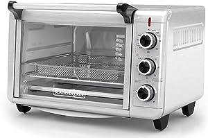 Spectrum Brands Black & Decker Crisp N' Bake Air Fry Toaster Oven TO3215SS, Silver