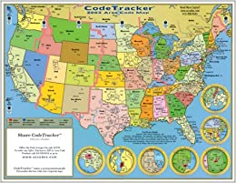 2003 CodeTracker Area Code Map: area codes for the US ...