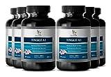 Sexual Enhancement Pills - TONGKAT ALI 200:1 PREMIUM EXTRACT 400mg - Longjack Tongkat Ali 200 1 Powder - 6 Bottles 360 Capsules