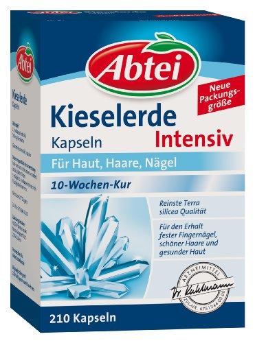 Abtei Kieselerde Intensiv Kapseln, 210 Stück, 1-er Pack (1 x 158 g)