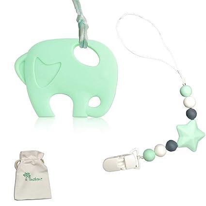 Chupete clip Inchant juguetes para la dentición libre de BPA ...