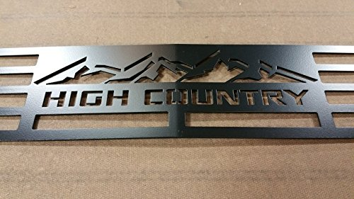 Mountains2Metal 2015-2019 Chevy 2500 3500 HD HIGH Country Edition Black (Best Grill Covers 2019)