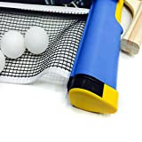 Outdoor & Sports,Dartphew 1Pcs Replacement Games Retractable Telescopic Table Tennis Ping Pong Portable Net,Adjustable clamps- Perfect Gift for All Ages Travel Home(Durable)