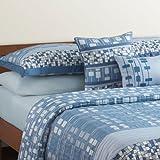 Modern Comfort by Angela Adams Nordic Blue Decorative Throw Pillows (Set of 2)