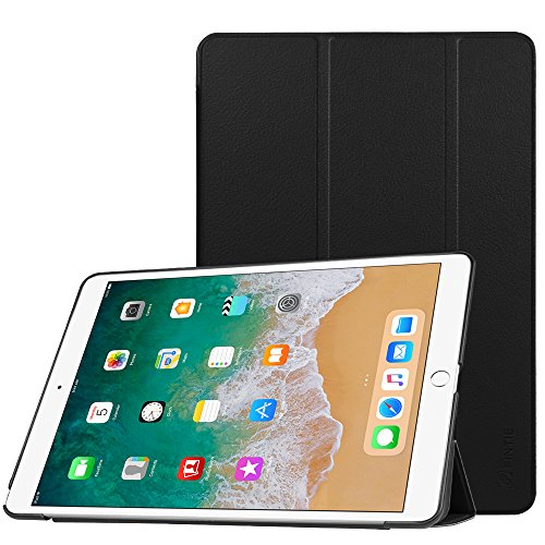 Fintie iPad Pro 10.5 Case - [SlimShell] Ultra Lightweight Standing Protective Cover with Auto Wake/Sleep Feature for Apple iPad Pro 10.5 Inch (2017 Release), Black