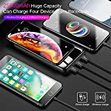 Wireless Portable Charger Power Bank 25000mAh