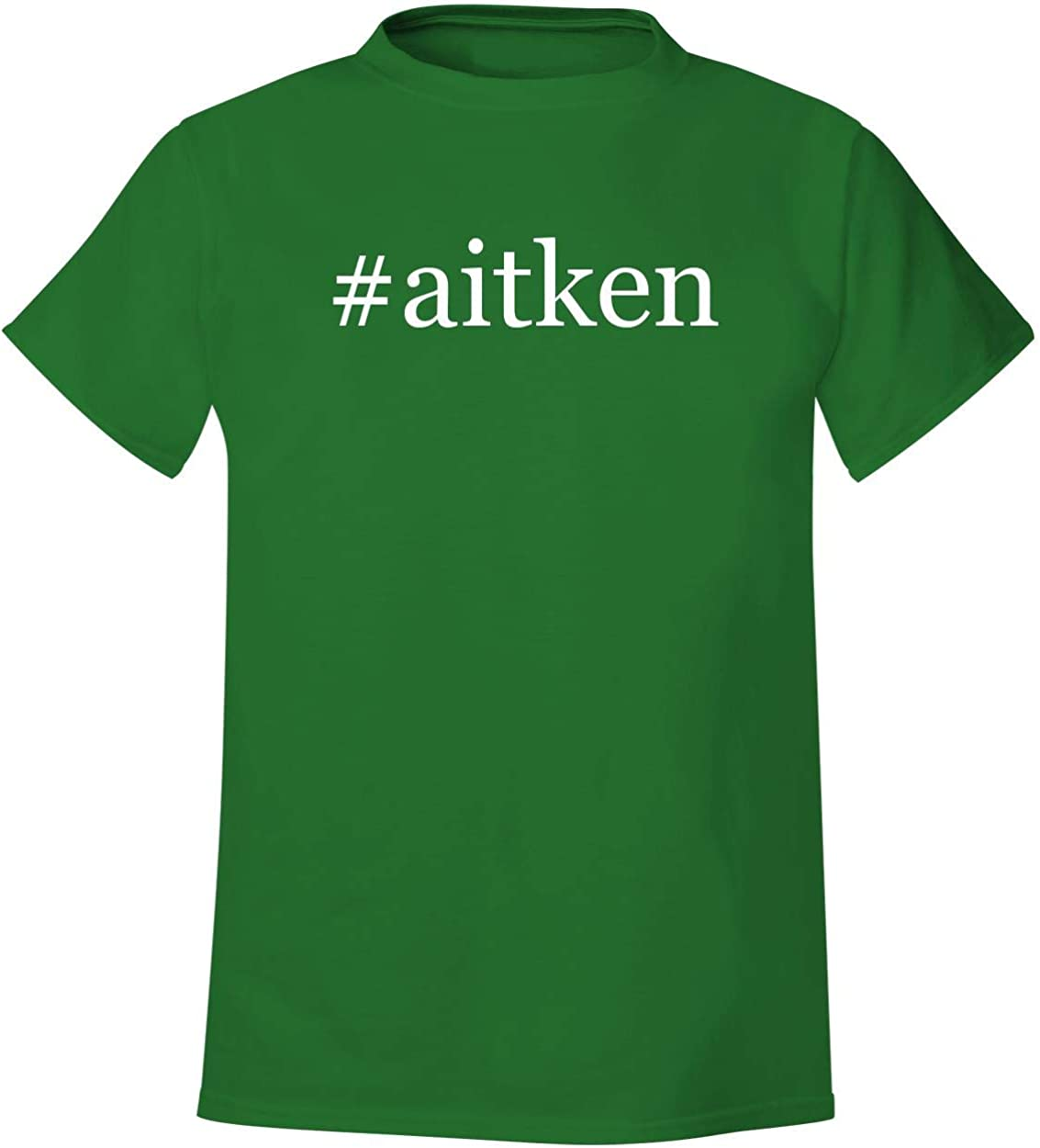 #aitken - Men's Hashtag Soft & Comfortable T-Shirt 51PERTh9SNL