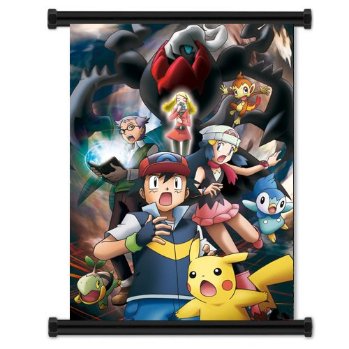 Pokemon Anime Fabric Wall Scroll Poster  Inches  Pokemon- 12