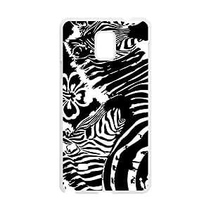 Artistic Zebra Phone Case for Samsung Galaxy Note4 wangjiang maoyi by lolosakes