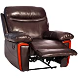 Merax Massage Recliner PU Leather Lounge with Heat and Massage Vibrating Sofa Chair
