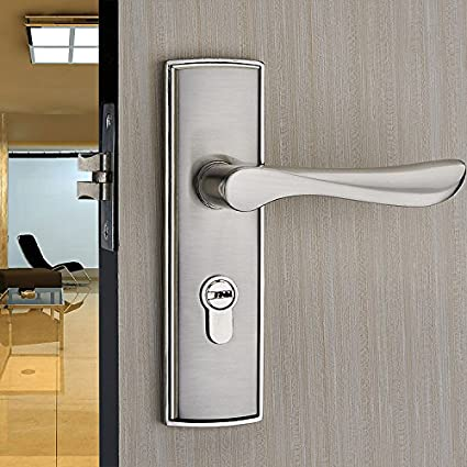 vanme Europea para interiores de madera para puerta de baño cerradura para puerta de pomo el