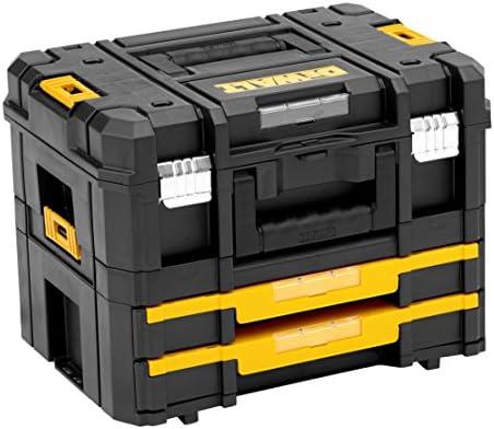 Dewalt DWST1-70702 Kit Maleta Multiusos II y cajonera Doble TSTAK IV, Negro, Amarillo: Amazon.es: Bricolaje y herramientas