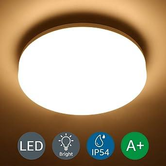LE LED Deckenleuchte Bad,Deckenlampe,Badlampe,IP54 Wasserfest,ideal ...