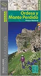 P. N. Ordesa y Monte perdido 1: 40.000 (ALPINA 40 - 1/40.000)