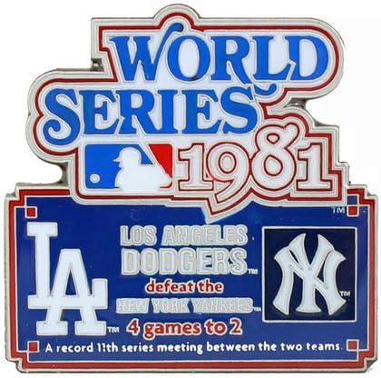 1981年MLBワールドシリーズ履歴ピン – Limited ブランド買うなら ...
