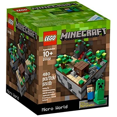 NEW LEGO CUUSOO MINECRAFT MICRO WORLD 21102 sealed nib nisb rare exclusive mobs: Toys & Games