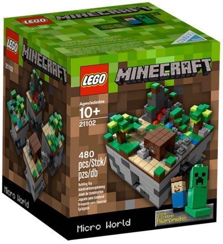 NEW LEGO CUUSOO MINECRAFT MICRO WORLD 21102 sealed nib nisb rare exclusive mobs (Lego Minecraft Micro)