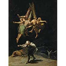 Goya The Witches' Flight Large Poster Art Print Lf3764