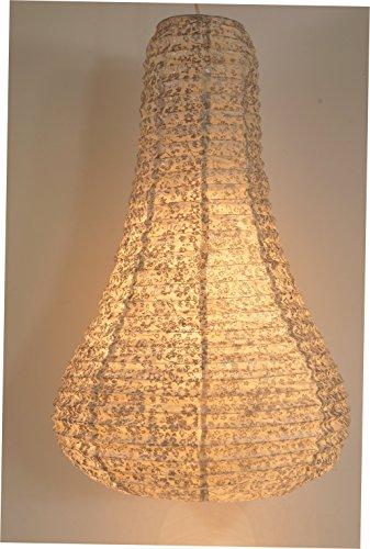 Corona bell Reispapierlampenschirm / Leuchten & Sterne / Variante: Farbe: natur