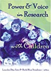 img - for Power & Voice in Research with Children (Rethinking Childhood) (v. 33) book / textbook / text book