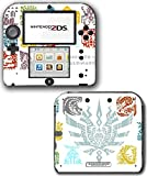 Monster Hunter 4 Ultimate Generations Stories Video Game Vinyl Decal Skin Sticker Cover for Nintendo 2DS System Console