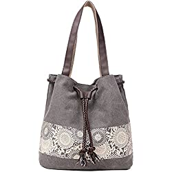 Hiigoo Printing Canvas Shoulder Bag