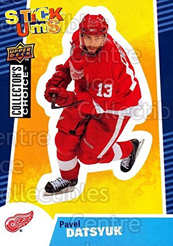 (CI) Pavel Datsyuk Hockey Card 2009-10 Collectors Choice Stick-Ums 11 Pavel Datsyuk