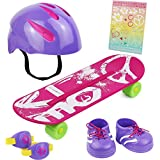 "Click N' Play CNP8330 Doll Skateboard Set and Accessories. Perfect For 18"" American Girl Dolls"