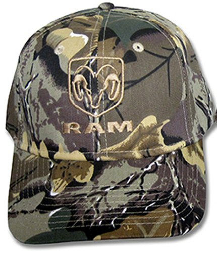 dodge-ram-mens-camouflage-hat-cap-closed-back