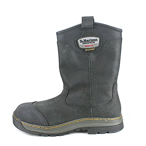 Dr. Martens Mens Rush Eh Safety Toe Rigger Boot Black oIfNUy