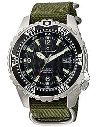 Momentum Men's 1M-DV06B7G Analog Display Japanese Quartz Green Watch