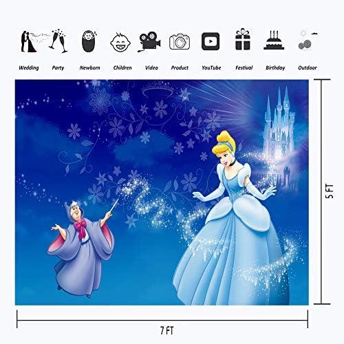 Aschenputtel Hintergründe Für Fotografie 17 8 X 12 7 Cm Märchenschloss Magische Hexe Happy Birthday Cinderella