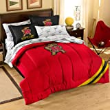 Officially Licensed NCAA Maryland Terrapins Twin/Full Size Comforter with Sham Set