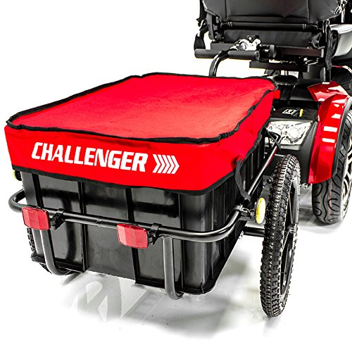 - Challenger Mobility Challenger Scooter Trailer for Pride Mobility Scooters Heavy Duty, Large Tires J2800