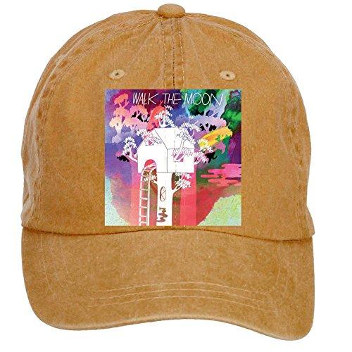 Price comparison product image Tommery Unisex Walk The Moon Album Hip Hop Baseball Caps