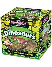 Green Board Games G0990038 Brainbox Dinosaurs Game