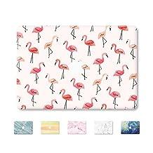"DowBier MacBook Decal Vinyl Skin Sticker Cover Anti-Scratch High-Resolution Decal Stickers for Apple MacBook … (MacBook Pro 13""/inch Retina(A1425,A1502), Flamingo)"