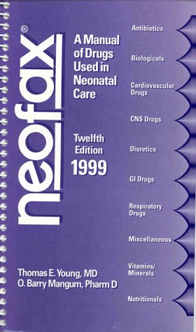 buy neofax a manual of drugs used book online at low prices in