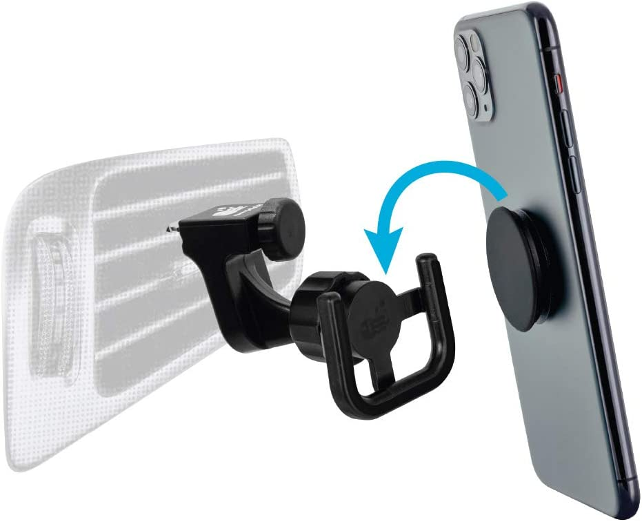 Square Jellyfish Car Vent Mount for Phones with Socket Devices