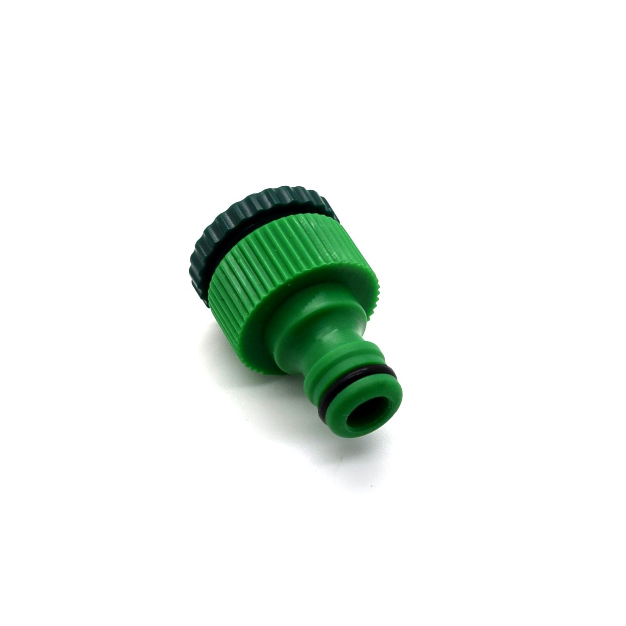 Garden Outside Plastic Tap Connector 1/2' - 3/4' Threaded Reducer Quick Fix Hose Pipe Tube Sola