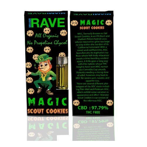 Monster Girl Scout Cookies Regular Strength 1,000MG by Miami Rave