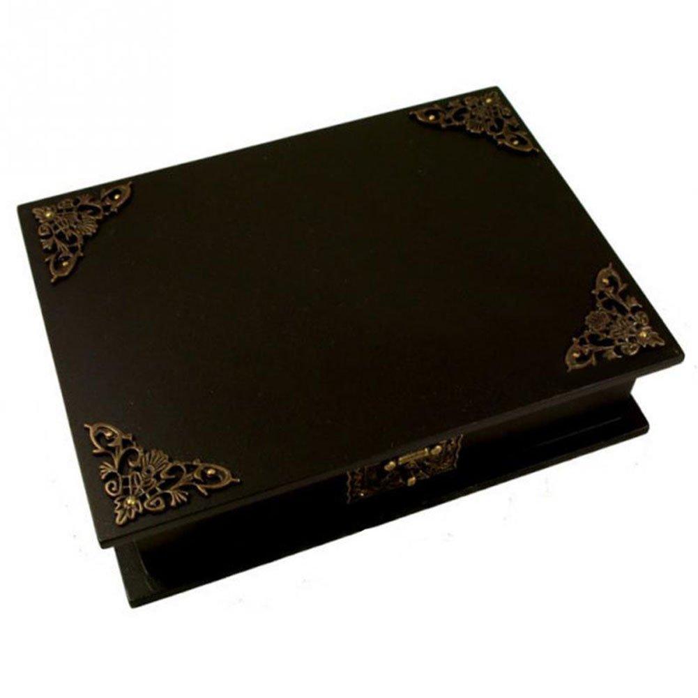 8/× Milopon Vintage Antike Schreibtisch Kantenabdeckung Eisen Kasten Eckenschutz Dekorative Kantenschutz Tisch Kantenabdeckung Bronze Packung