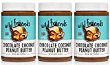 Wild Friends Foods Natural Peanut Butter, Chocolate Coconut, Gluten Free, Palm Oil Free, 3 Count For Sale