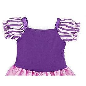 - 51PEXRyCZ0L - Cotrio Rapunzel Dress Up for Girls Halloween Princess Costume Birthday Theme Party Dresses