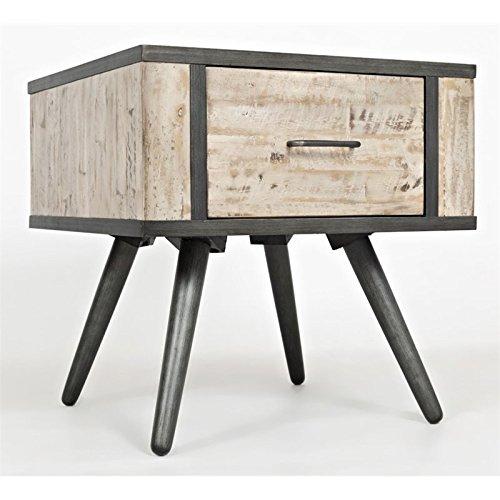 - Jofran: 1640-3, American Retrospective, Square End Table, 24