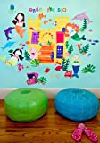 Oopsy Daisy Mermaids Peel and Place Wall Art, 54 by 45, Baby & Kids Zone