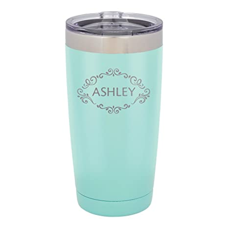 Froolu Insulated Cups Camping Mint Personalized Laser Engraved Tumbler Hydro Travel Cup Flask